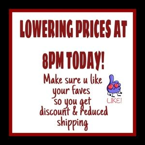 I wont reduce prices 'til you're ready!!